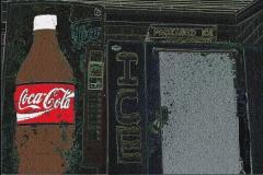 Coke & Ice Caricature