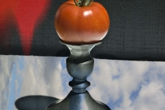 Tomato and Candle Holder sky and flames-026