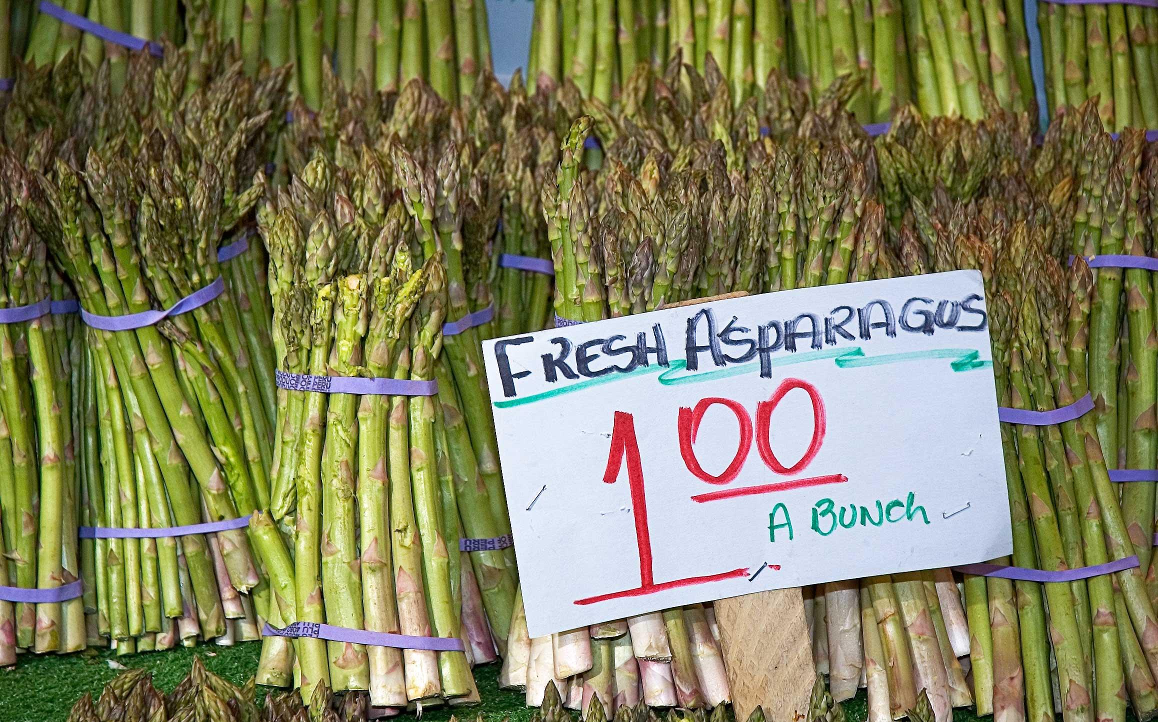 Fresh-Asparagas