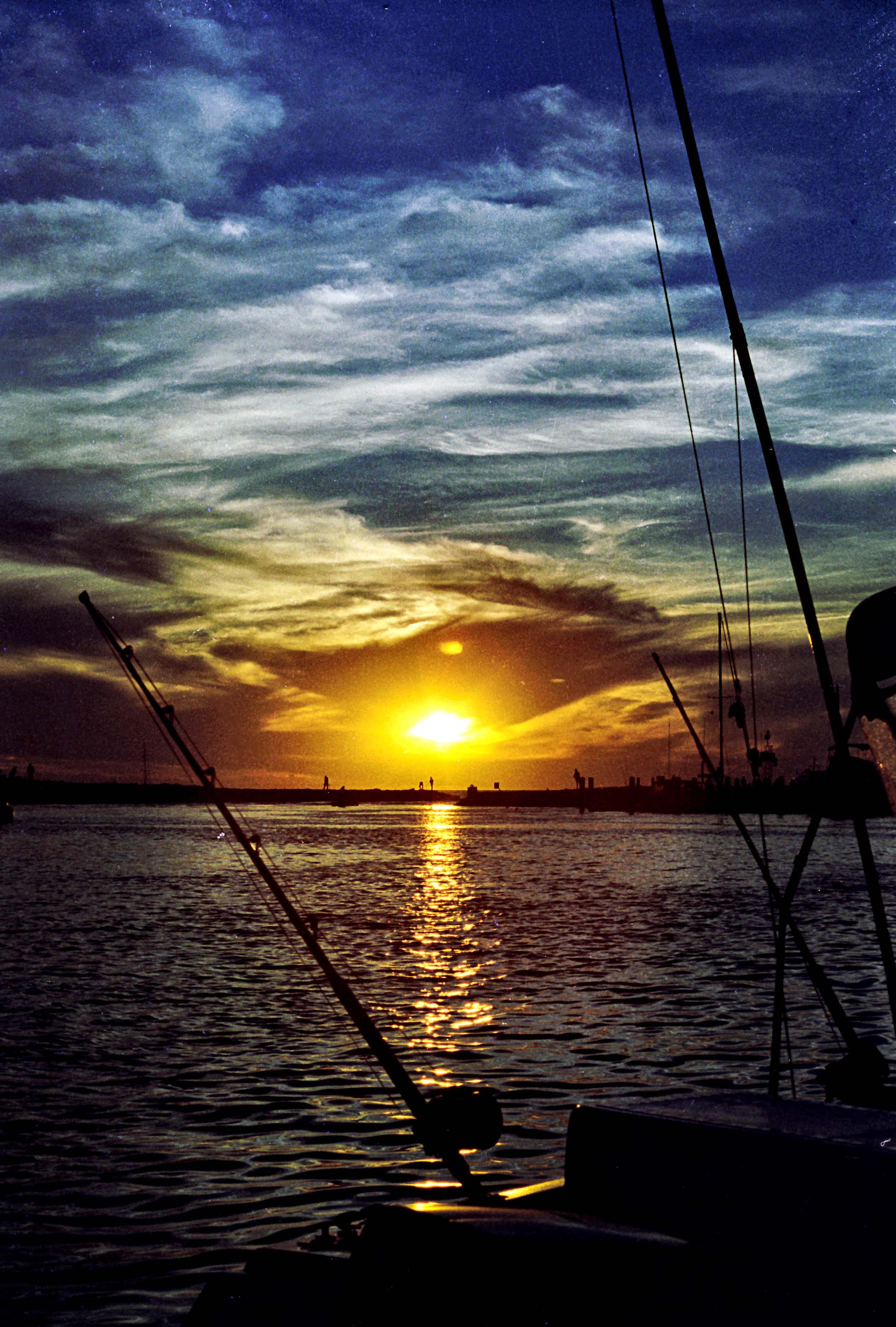 Menemsha Sunset-V